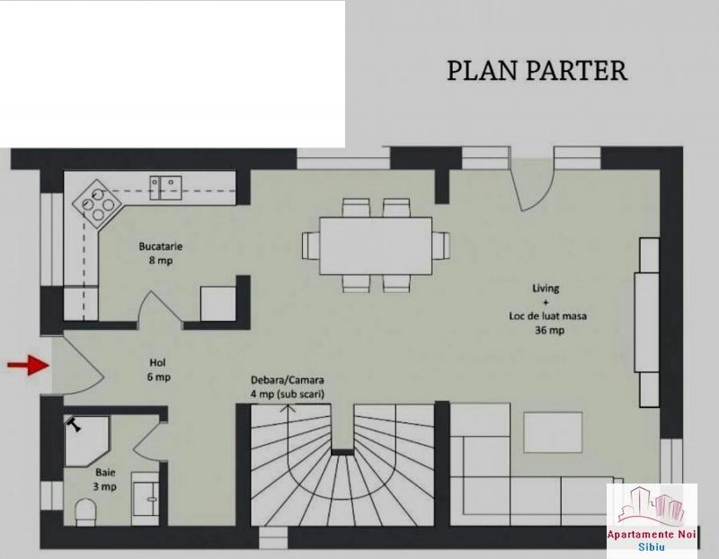 Oportunitate!!Casa noua de vanzare in Sibiu, zona Calea Cisnadiei-160-3