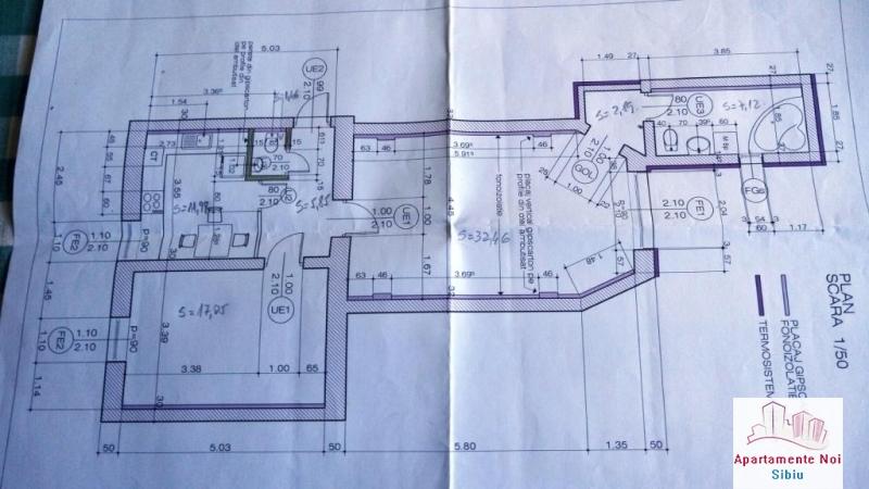 Apartament,la casa,2 camere,de vanzare,in Sibiu,zona Terezian-164-13