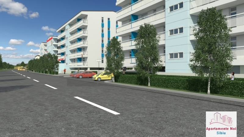 Apartamente 3 camere noi Sibiu zona Turnisor Calea Surii Mici-24-6