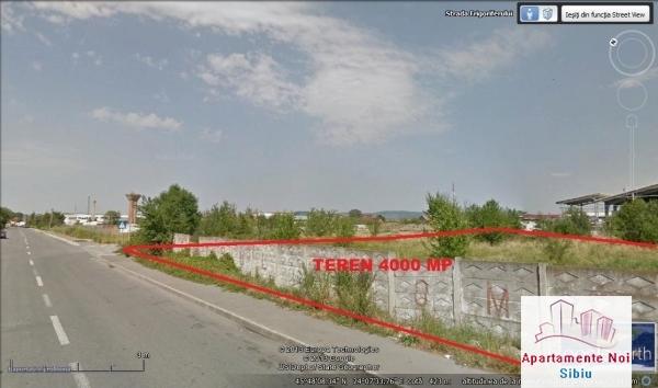Teren in Sibiu de vanzare zona industriala Frigoriferului-34-0