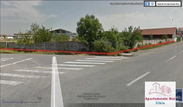 Teren in Sibiu de vanzare zona industriala Frigoriferului-34-2
