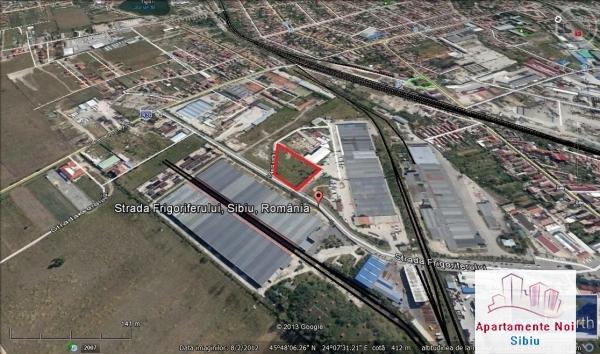 Teren in Sibiu de vanzare zona industriala Frigoriferului-34-3