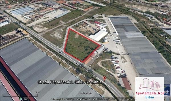 Teren in Sibiu de vanzare zona industriala Frigoriferului-34-4