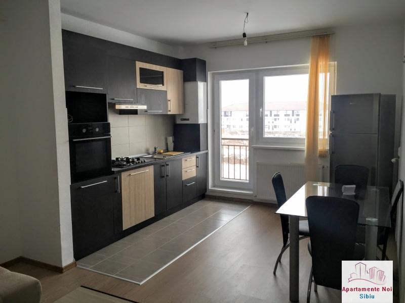 Apartament 3 camere intabulat la cheie mobilat si utilat Sibiu -58-1