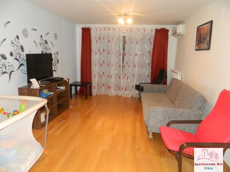 Apartament 3 camere vanzare zona Rahovei Sibiu mobilat si utilat-60-0