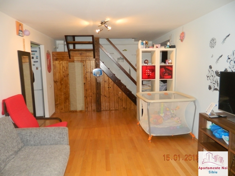 Apartament 3 camere vanzare zona Rahovei Sibiu mobilat si utilat-60-1