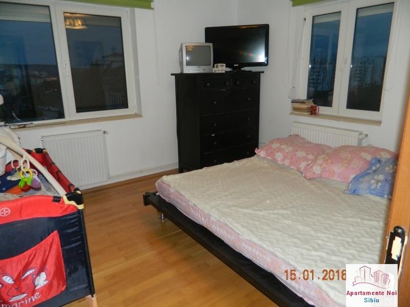 Apartament 3 camere vanzare zona Rahovei Sibiu mobilat si utilat-60-5