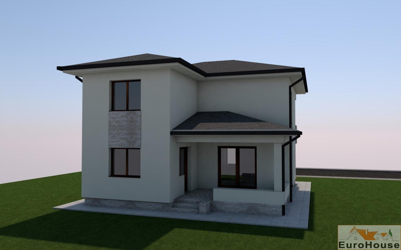 Teren cu proiect casa de vanzare Alba Iulia zona Giro spre Dendrologic-33588-