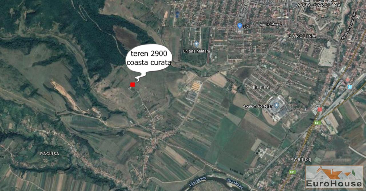 De vanzare teren in Paclisa ''Coasta Curata''-34305-