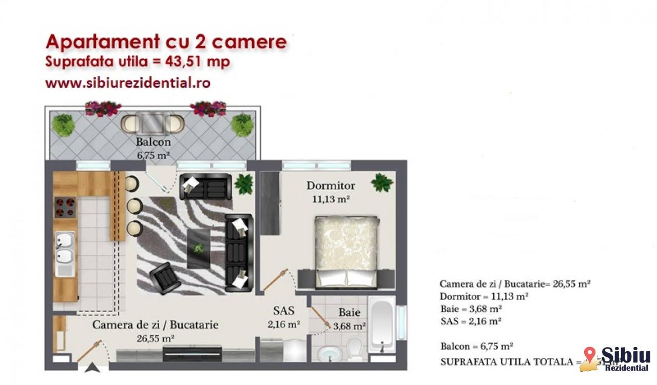 Apartament 2 camere intabulat zona Kaufland-29293-0