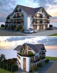 Vila cu arhitectura deosebita - Calea Cisnadiei-1